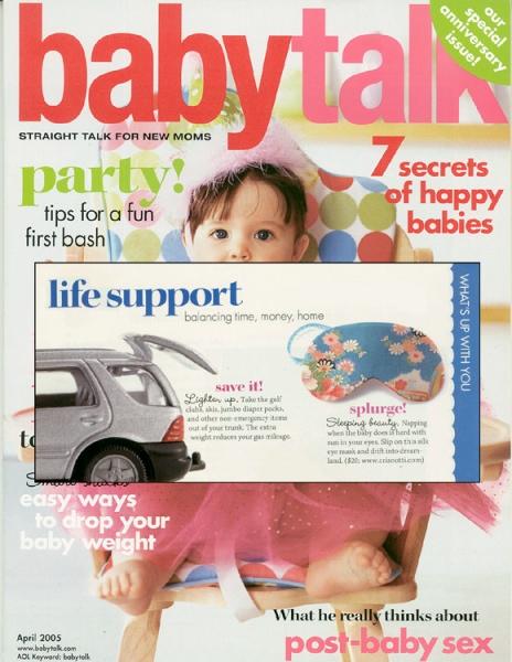 Baby Talk Magazine April 2005