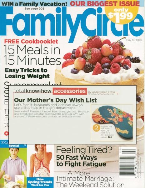 Family Circle Magazine May 2005
