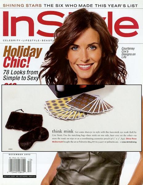 In Style Magazine December 2002