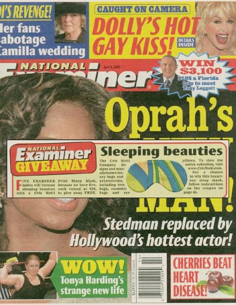 National Examiner Magazine April 2005