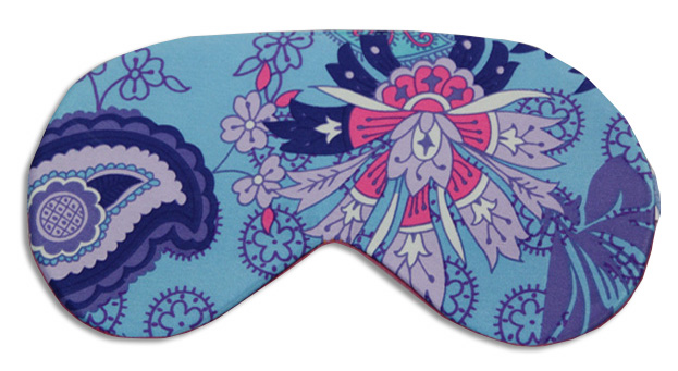 Bindi Blue Sleep Mask - front