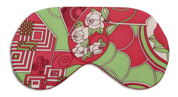 Blooming Rose Sleep Mask - front