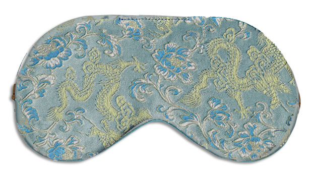 Blue Dragon Sleep Mask - front