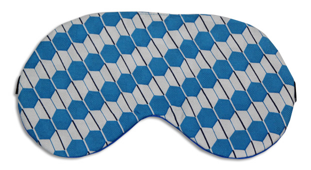 Diamond Gem Sleep Mask - front
