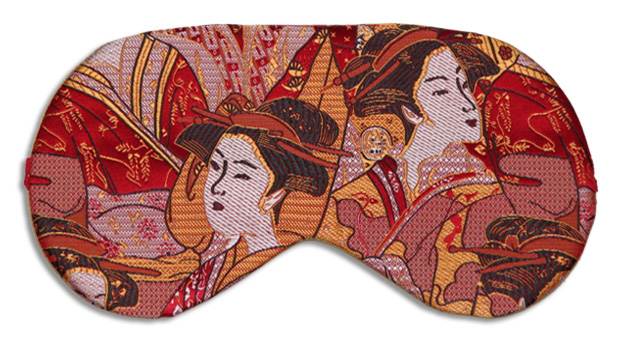 Geisha Sleep Mask - front