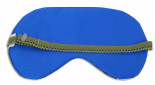 Green Bamboo Sleep Mask - back