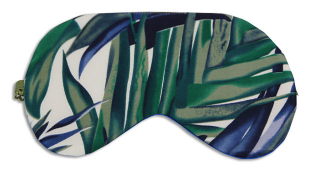 Green Bamboo Sleep Mask - front
