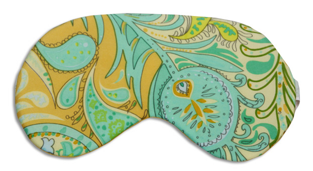 Mellow Yellow Sleep Mask - front