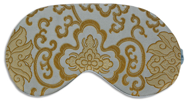 Morocco Blue Sleep Mask - front