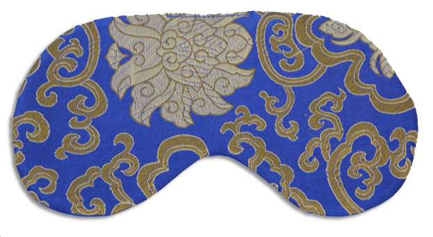 Morocco Royal Blue Sleep Mask - front