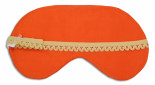 Morocco Tangerine Sleep Mask - back