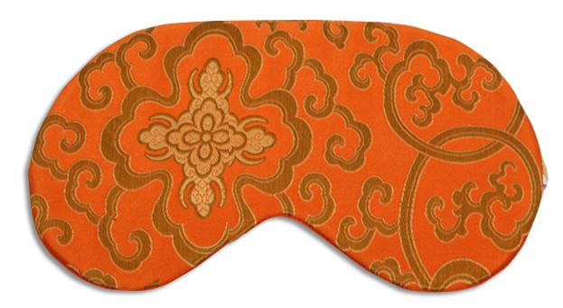 Morocco Tangerine Sleep Mask - front