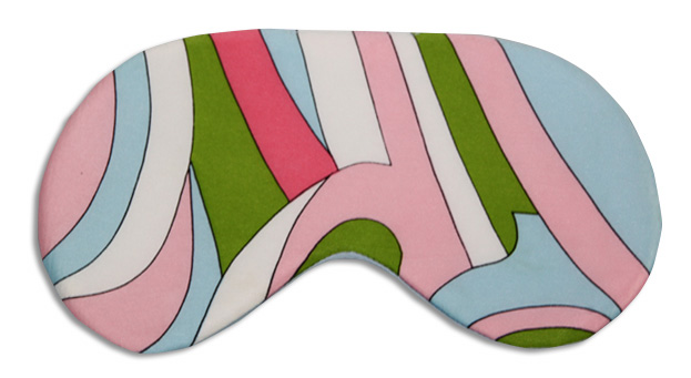 Pink Capri Sleep Mask - front