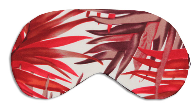 Red Bamboo Sleep Mask - front