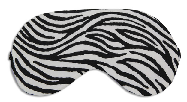 Zebra Sleep Mask - front