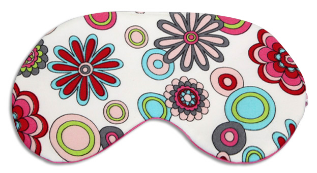 Floral Rose Sleep Mask - front