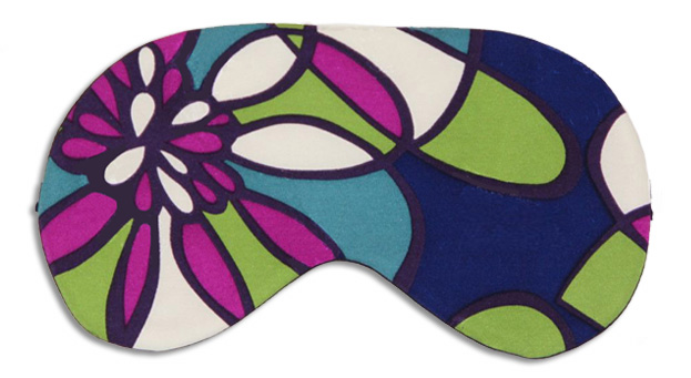 Glass Mosaic Sleep Mask - front