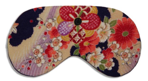 Kimono Green Sleep Mask - front