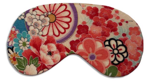 Kimono Turquoise Sleep Mask - front