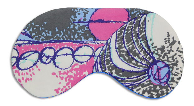 Magic Carpet Sleep Mask - front