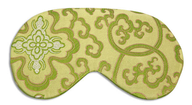 Morocco Lime Sleep Mask - front