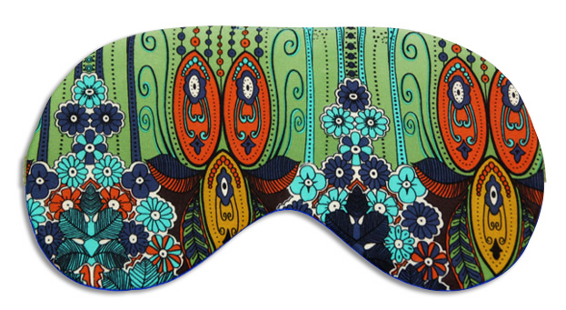 Piccadilly Garden Silk Sleep Mask