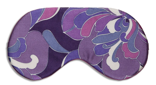 Pop Art Lavender Sleep Mask - front