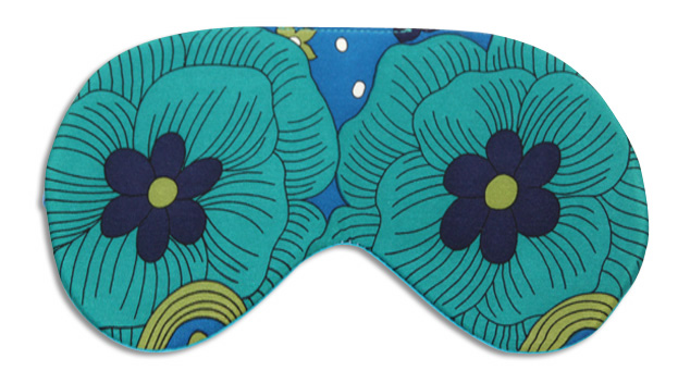Sea Petals Sleep Mask - front