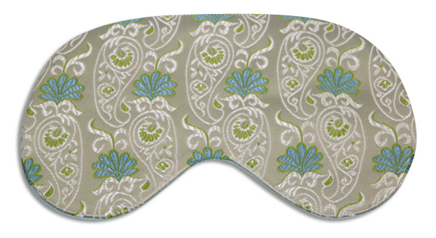 Water Lilly Sleep Mask - front