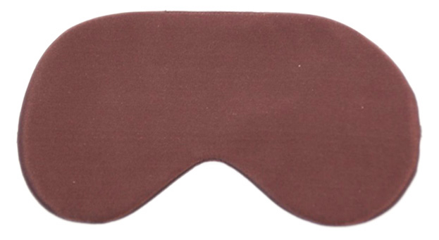 Brown Fox Silk Sleep Mask