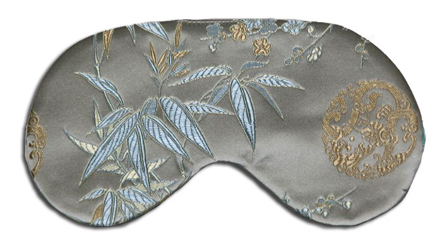 Sage Bamboo Sleep Mask - front
