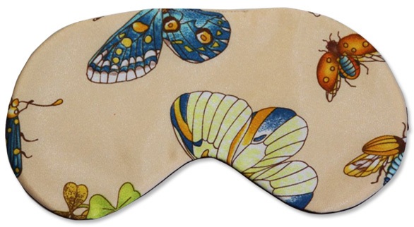 Insect Butterfly Sleep Mask - front