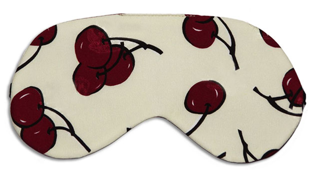 Cherry Baby Sleep Mask front