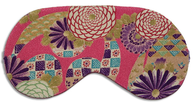 Pink Kyoto Sleep Mask front