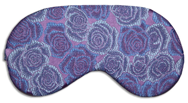 Wild Orchid Sleep Mask front