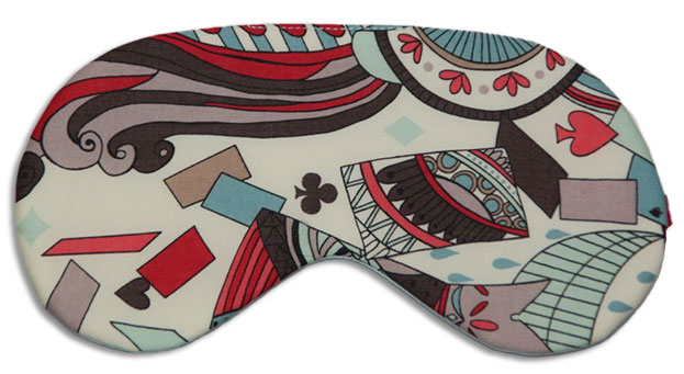 Wonderland Sleep Mask front