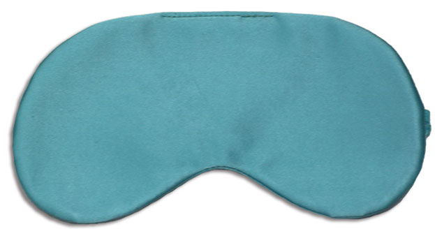 Blue Parrot Silk Sleep Mask