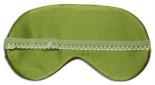 Green Leaf Sleep Mask - back