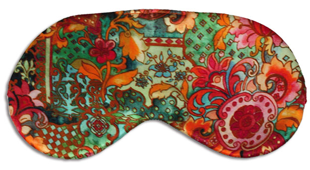 Mardi Gras Silk Sleep Mask