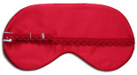 Red Rooster Sleep Mask - back