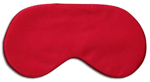Red Rooster Silk Sleep Mask