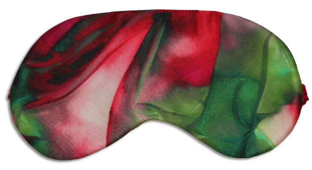 Rose Garden Sleep Mask - front