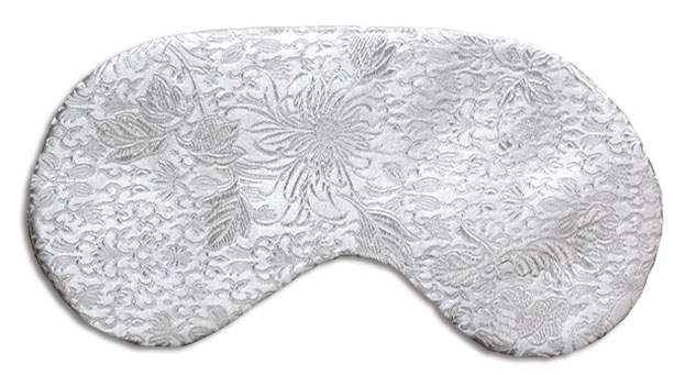 Snow Ball Sleep Mask - front