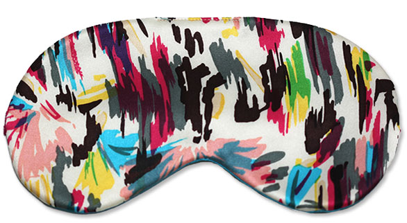 Paintbrush Sleep Mask - front